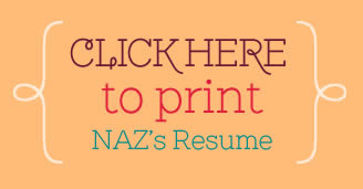 Click here to print Nazia Chaudhry's resume