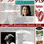 Jazzette Feature in WCLK 91.9 Newsletter, Aug. 2014