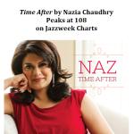 Naz Peaks at #108 on Jazzweek Charts